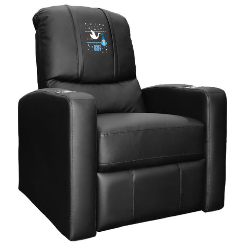 Stealth Recliner with Baby Boy Stork Logo