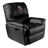 Rocker Recliner with Baby Girl Stork Logo