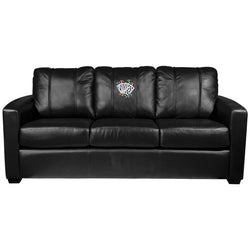 Silver Sofa with Royal Flush Logo Panel