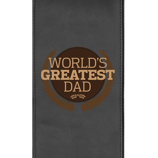 Worlds Greatest Dad Logo Panel