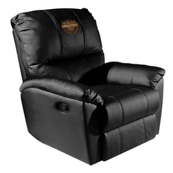 Rocker Recliner with World's Greatest Dad Logo Panel