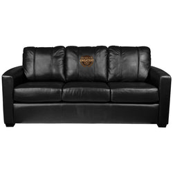 Silver Sofa with World's Greatest Dad Logo Panel
