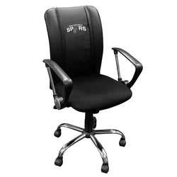 Curve Task Chair with San Antonio Spurs Logo
