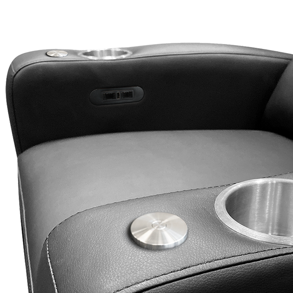 Stealth Power Plus Recliner with New York Jets Helmet Logo