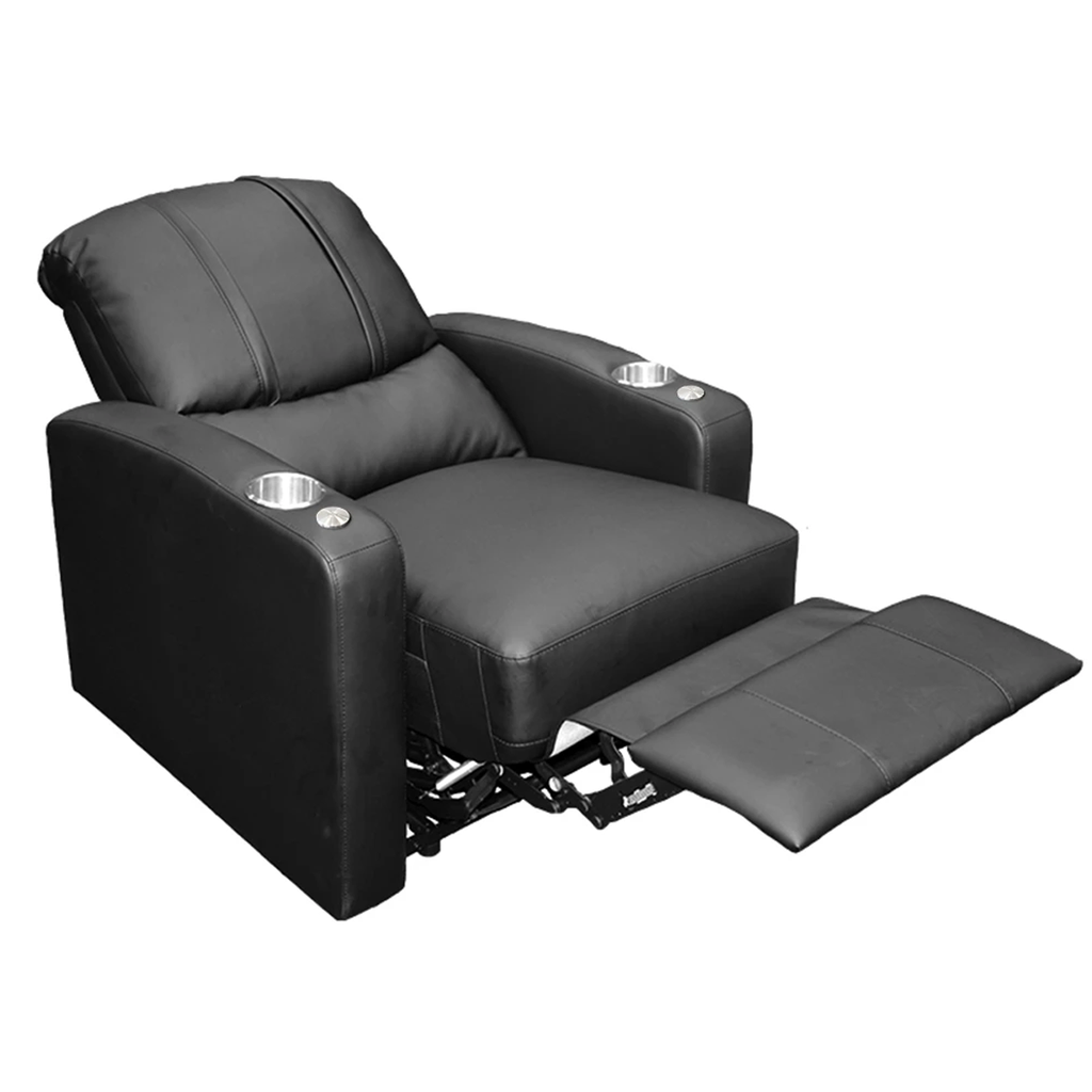 Stealth Power Plus Recliner with New York Giants Primary Logo
