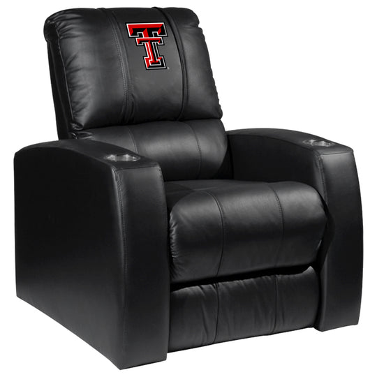 Relax Recliner with Texas Tech Red Raiders Logo