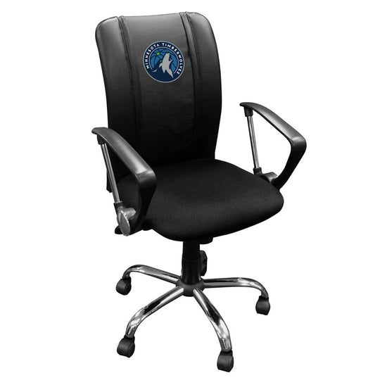 Curve Task Chair with Minnesota Timberwolves Primary Logo