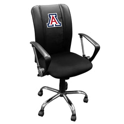Curve Task Chair with Arizona Wildcats Logo