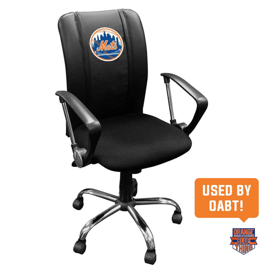Curve Task Chair with New York Mets Logo
