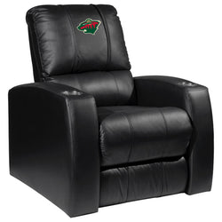Relax Recliner with Minnesota Wild Logo