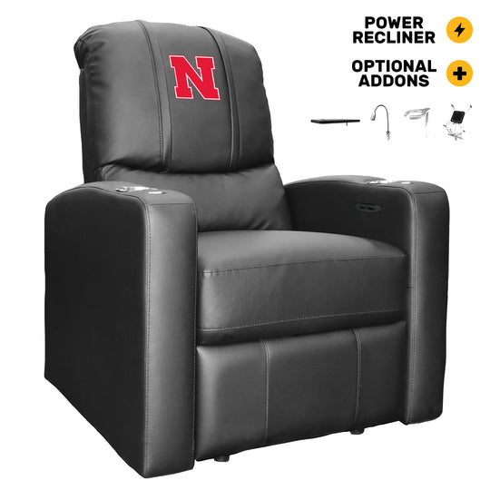 Stealth Power Recliner with Nebraska Cornhuskers Primary