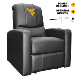 Stealth Power Recliner with West Virginia Mountaineers Logo
