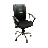 Curve Task Chair with Michigan State Secondary Logo