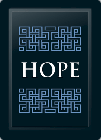 Hope Deco Horizontal Blue