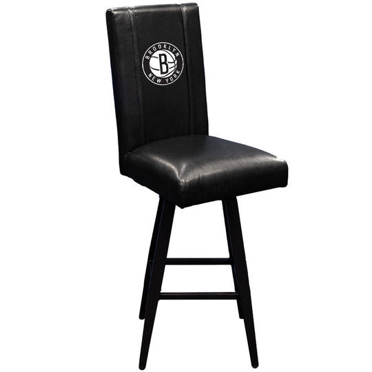 Swivel Bar Stool 2000 with Brooklyn Nets Secondary