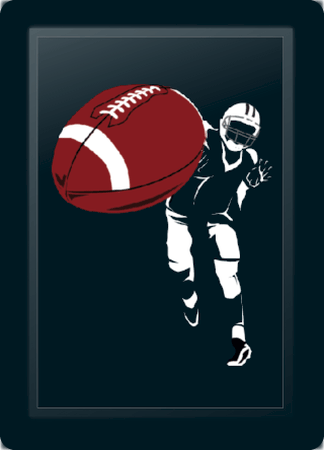 Football Quarterback Throw