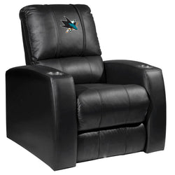 Relax Recliner with San Jose Sharks Logo