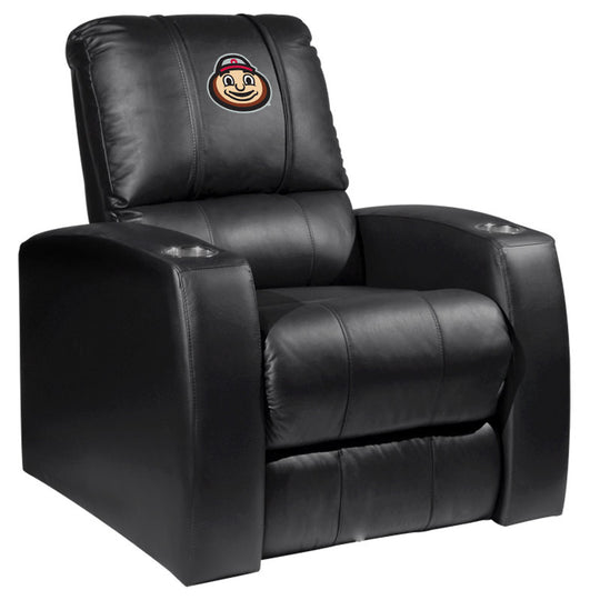Relax Recliner with Ohio State Buckeyes BrutusHead Logo