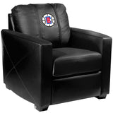 Silver Club Chair with Los Angeles Clippers Primary