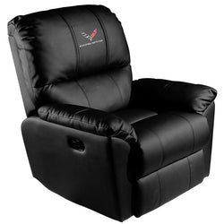 Rocker Recliner with Corvette C7 Logo