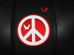 Peace Sign Red