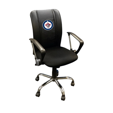Curve Task Chair with Winnipeg Jets Logo