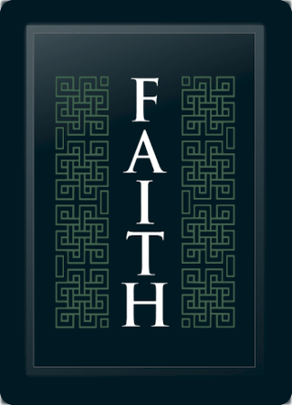 Faith Deco Vertical Sage