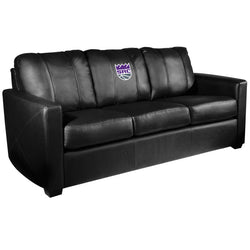 Silver Sofa with Sacramento Kings Secondary Logo