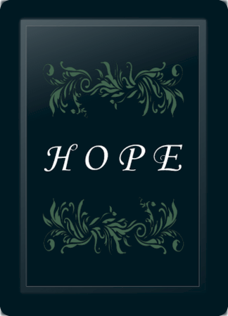 Hope Floral Horizontal Sage