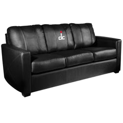 Silver Sofa with Washington Wizards Secondary