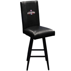Swivel Bar Stool 2000 with 2016 Chicago Cubs World Series Logo
