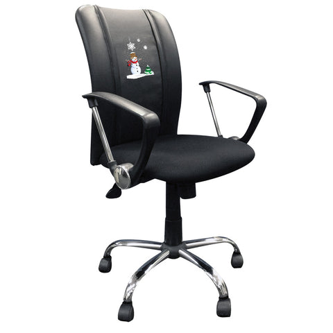 Curve Task Chair with Snowman Logo