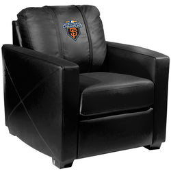 Silver Club Chair with San Francisco Giants Champs'10
