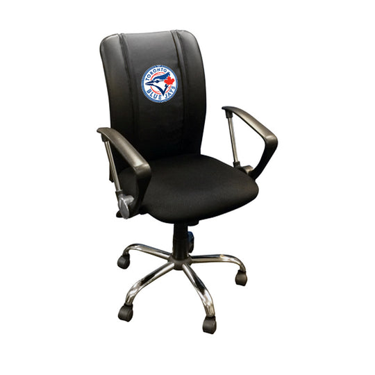 Curve Task Chair with Toronto Blue Jays Logo