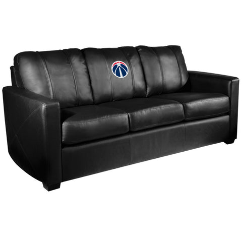 Silver Sofa with Washington Wizards Primary Logo
