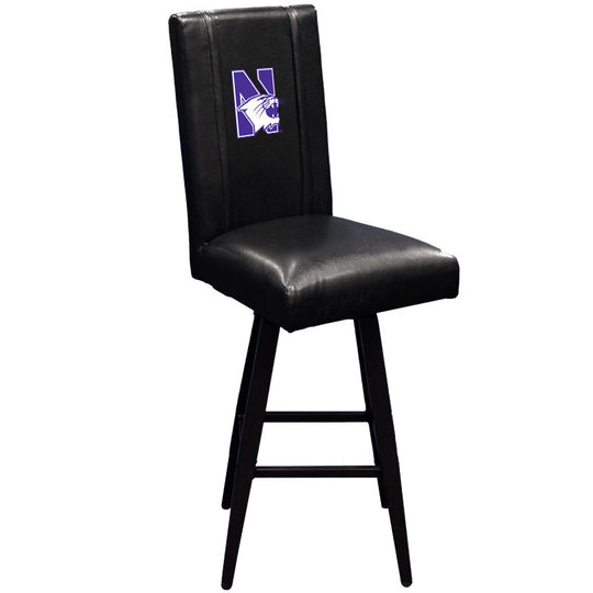 Swivel Bar Stool 2000 with Northwestern Wildcats Logo