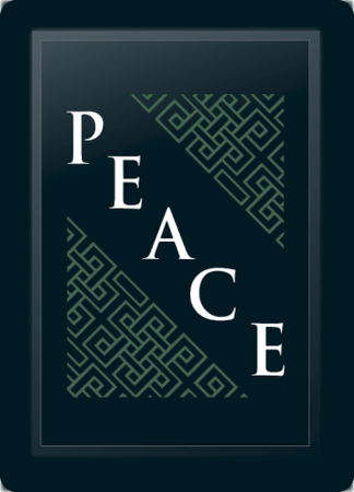 Peace Deco Diagonal Sage
