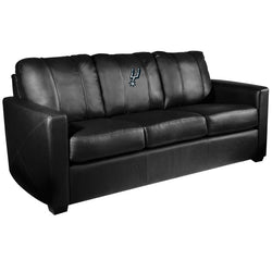 Silver Sofa with San Antonio Spurs Primary Logo
