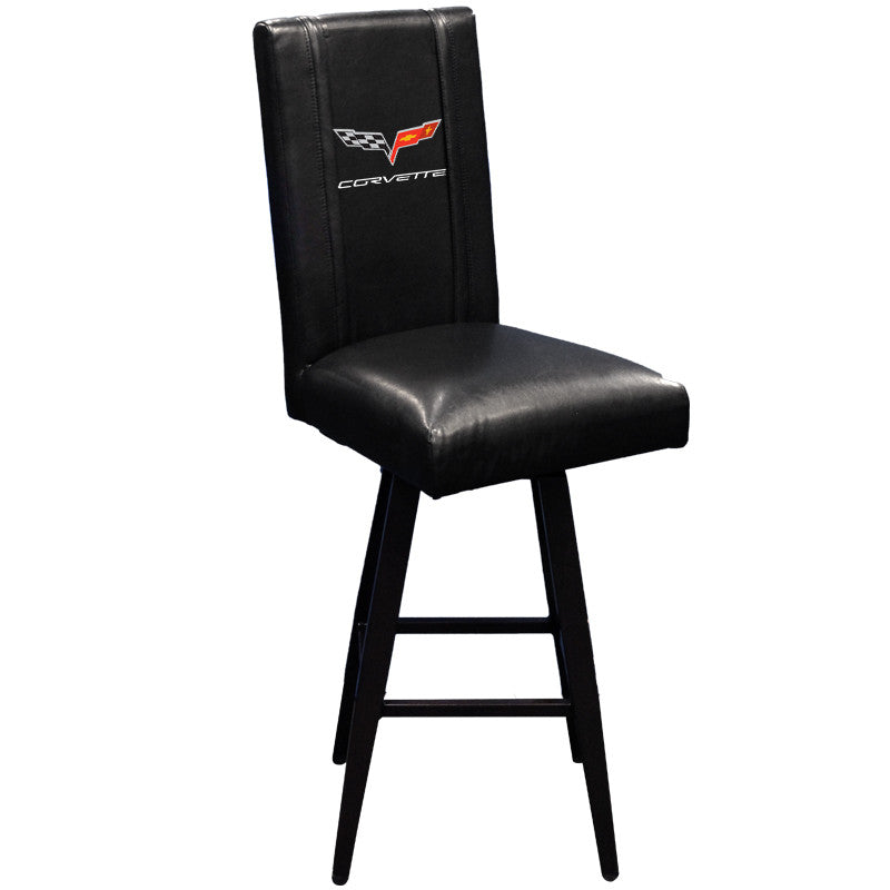 Swivel Bar Stool 2000 with Corvette C6 Logo