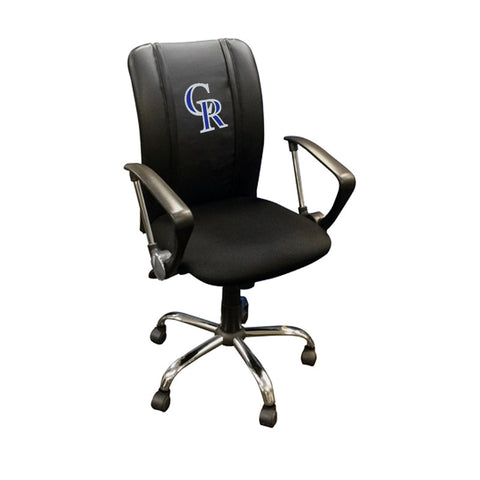 Curve Task Chair with Colorado Rockies Secondary