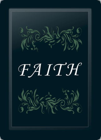 Faith Floral Horizontal Sage