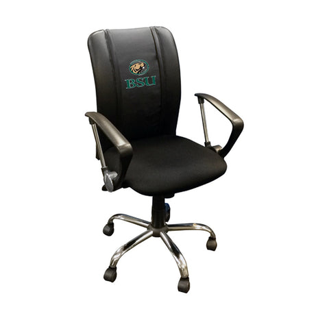 Curve Task Chair with Bemidji State Beavers Logo
