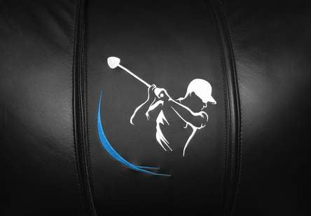 Golf Swing Blue
