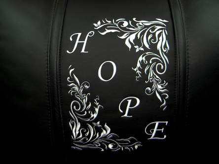 Hope Floral Diagonal Silver