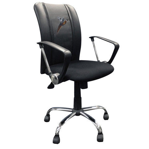 Curve Task Chair with Pheasant Flushing Logo