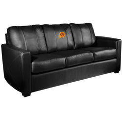 Silver Sofa with Phoenix Suns Primary