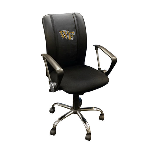 Curve Task Chair with Wake Forest Demon Deacons Logo