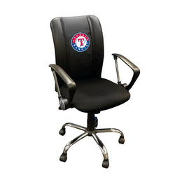 Curve Task Chair with Texas Rangers Logo