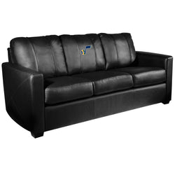 Silver Sofa with Utah Jazz Primary Logo