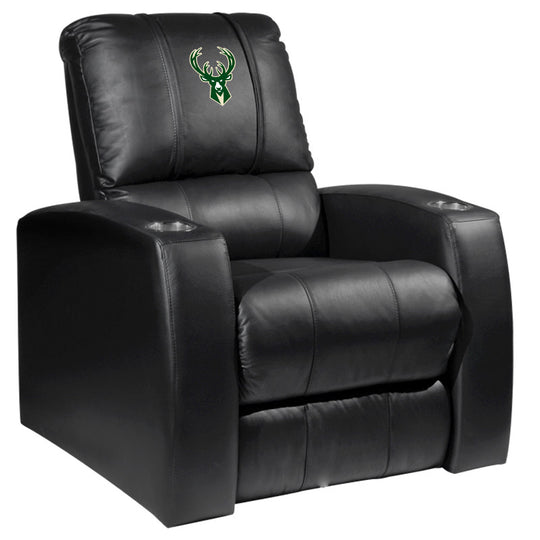 Relax Recliner with Milwaukee Bucks Logo